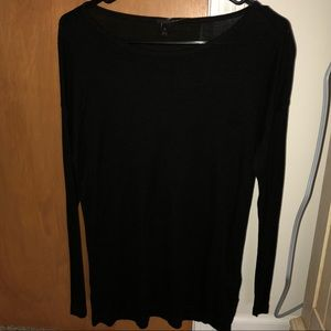 Black, long sleeve shirt. Size Small.